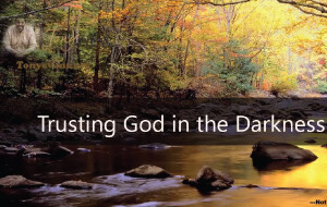 Trusting God In The Darkness<br /> by Tony Evans
