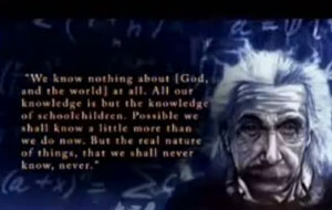 Albert Einstein on God